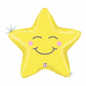 """SCHLAFMOND 66 CM/ CHUBBY STAR 26 """" HOLO"""