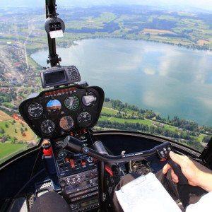 """Hubschrauber-Rundflug """"Naturpark / Rursee"""" – Aachen-Merzbrück"""