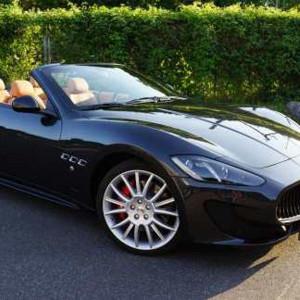 Instruktorfahrt mit Maserati Grand Cabrio Sport - Raum Aschaffenburg