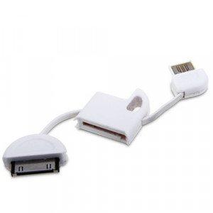 iPhone Schlüsselanhänger-Ladekabel mit iPhone