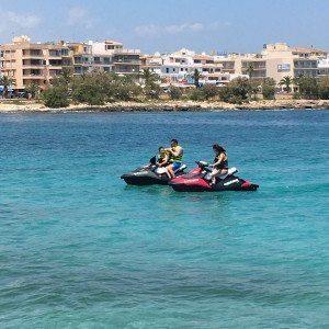 Jetski-Tour nach Cala Varques Cala Millor (Mallorca)