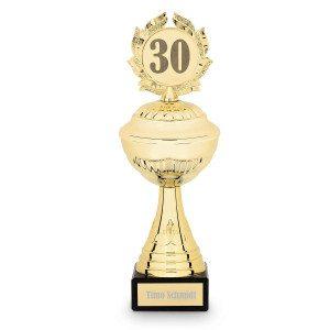 Jubiläums-Pokal mit Gravur