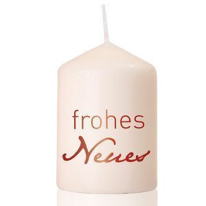 "Kerze ""Frohes Neues"""