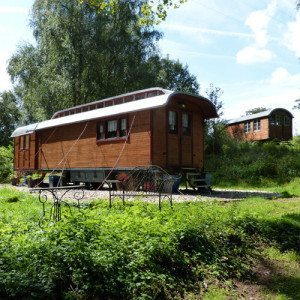 Kleiner Urlaub im Zirkuswagen - 2 Personen - Hundsdorf