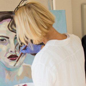 Kunstkurs zur (Selbst-)Porträtmalerei – Hamburg