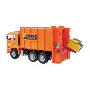 Man Müll-Lkw Hecklader
