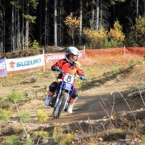 Motocross-Schnupperkurs für Kinder – Regen
