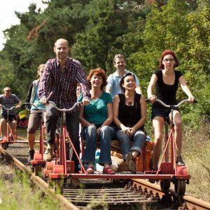 Natur-Tour mit Fahrraddraisine – Templin-Fürstenberg