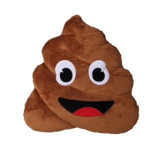 "Plüschkissen ""Pile of Poo"""