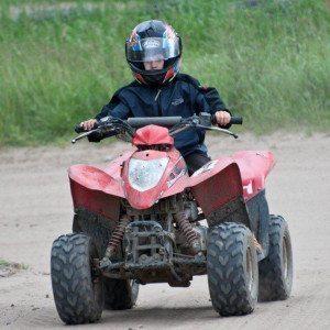 Quad-Parkour für Kinder am Hainer See – Raum Leipzig