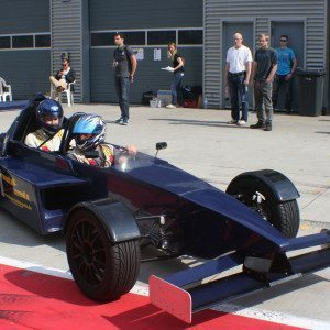 Renntaxi im Formel 3000 Replica - Hockenheimring