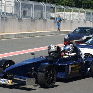Renntaxi im Formel 3000 Replica - Lausitzring
