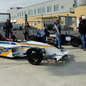 Renntaxi im Formel 3000 Replica - Oschersleben