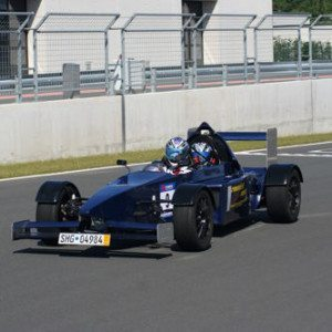 Renntaxi im Formel 3000 Replica - Red Bull Ring