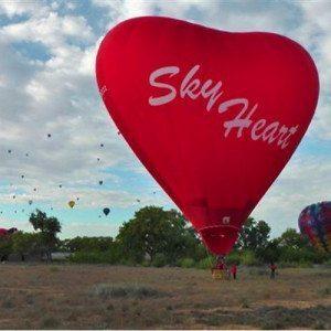 "Romantische Ballonfahrt ""Sky Heart"" für 2"