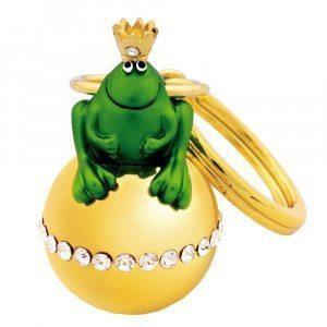 Schlüsselanhänger Froschkönig