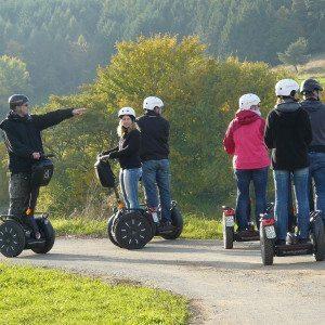 Segway Geocache Tour - Raum Marburg