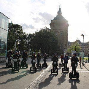 Segway-Tour mit Cityguide - Mannheim