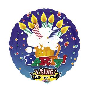 "Singender Helium-Luftballon ""Party"""