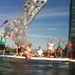 Stand-Up-Paddling Teamevent Berlin