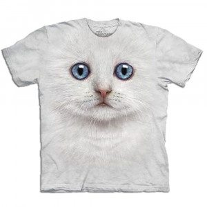T-Shirt Big Face Katze