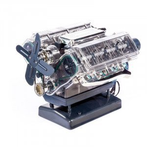 Lernpaket: V8-Motor selbst nachbauen