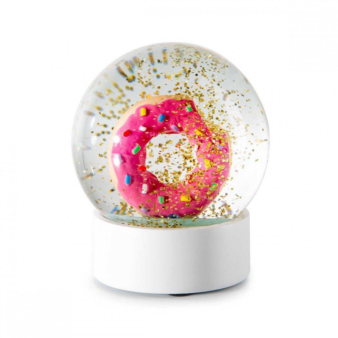 Schneekugel Donut Geschenkidee De
